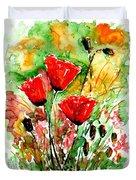 Poppy Lawn Duvet Cover