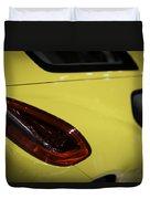Porsche Cayman S Duvet Cover by Sebastian Musial