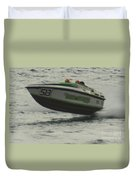 Port Huron Sarnia International Offshore Powerboat Race Duvet Cover