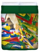 Prayer Flags Duvet Cover