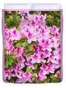 Pretty In Pink - Spring Flowers In Bloom. Duvet Cover