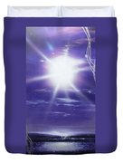 Purple Aura II Duvet Cover