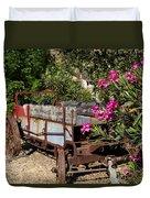 Ranch Wagon Cross Over Duvet Cover
