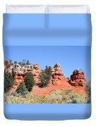 Red Canyon - Utah Duvet Cover