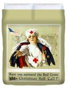 Red Cross Poster, C1918 Duvet Cover