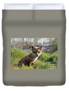 Red Fox Kit Duvet Cover