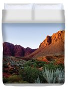 Red Rock Glory Duvet Cover