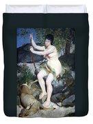 Renoir's Diana Duvet Cover