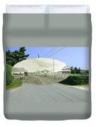 Rhode Island Road At Sakonnet Point In Little Compton Rhode Island Duvet Cover