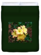Rhododendron 'toff' Duvet Cover