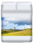 Rinca Panorama Duvet Cover by MotHaiBaPhoto Prints