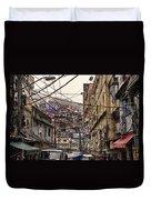 Rio De Janeiro Brazil - Favela Duvet Cover