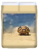 Road Warrior Duvet Cover by Laura Fasulo
