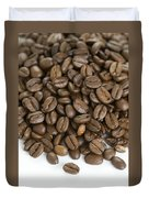 Roasted Coffee Beans Duvet Cover