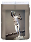 Rodin's The Vanguished -- 1 Duvet Cover