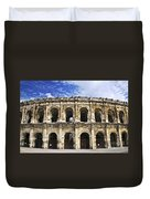 Roman Arena In Nimes France Duvet Cover