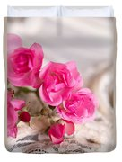 Roses And Lace Duvet Cover