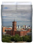 Rotes Rathaus Berlin Duvet Cover