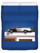 Route 66 - Desoto's Salon Duvet Cover