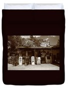 Route 66 - Hackberry General Store Duvet Cover