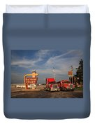 Route 66 - Rest Haven Motel Duvet Cover