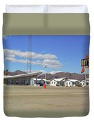 Route 66 - Roy's Of Amboy California Duvet Cover