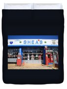 Route 66 - Shea's Filling Station Duvet Cover
