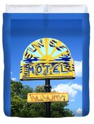 Route 66 - Sunset Motel Duvet Cover