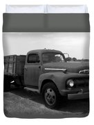 Rusty Ford Truck 2 Duvet Cover