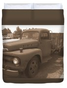 Rusty Ford Truck Duvet Cover