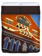 Ryman Auditorium Duvet Cover