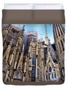 Sagrada Familia - Gaudi Duvet Cover