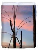 Saguaro Silhouettes Duvet Cover