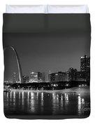Saint Louis Skyline Duvet Cover