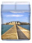 Saint-malo - Brittany Duvet Cover