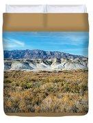 Salt Creek Death Valley National Park Duvet Cover