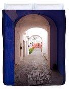 Santa Catalina Monastery Arequipa Peru Duvet Cover