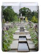 Sarah Lee Baker Perennial Garden 3 Duvet Cover