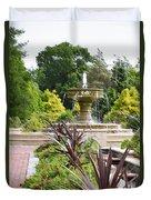 Sarah Lee Baker Perennial Garden  4 Duvet Cover