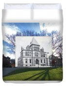 Sayles Hall At Brown University In Providence Rhode Island Duvet Cover