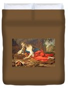 Seghers' The Repentant Magdalen Duvet Cover
