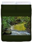 Serene Stream Duvet Cover