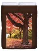 Shading Autumn Duvet Cover