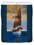 Ship Ahoy Duvet Cover