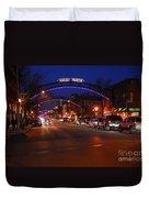 D8l-353 Short North Gallery Hop Photo Duvet Cover
