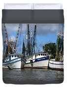 Saltwater Cowboys Duvet Cover