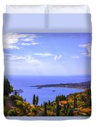 Sicily View Duvet Cover