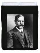 Sigmund Freud (1856-1939) Duvet Cover