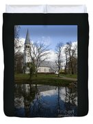 Sigulda Church Duvet Cover