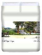 Silver Lake Mill -summer Duvet Cover